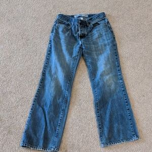 Used boot fit jeans